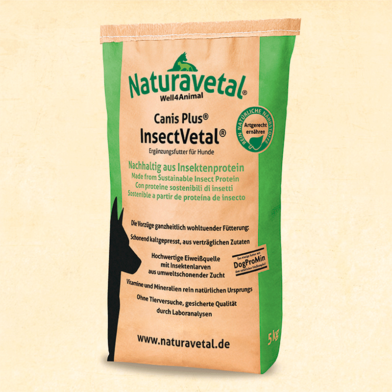 Naturavetal Dog Feed Plus InsectVetal
