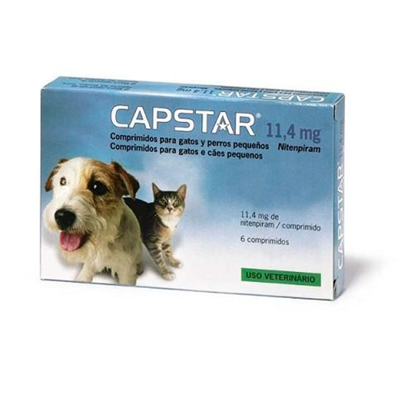 Capstar for Cats and Small Dogs 11.4 mg 6 Tablets Elanco