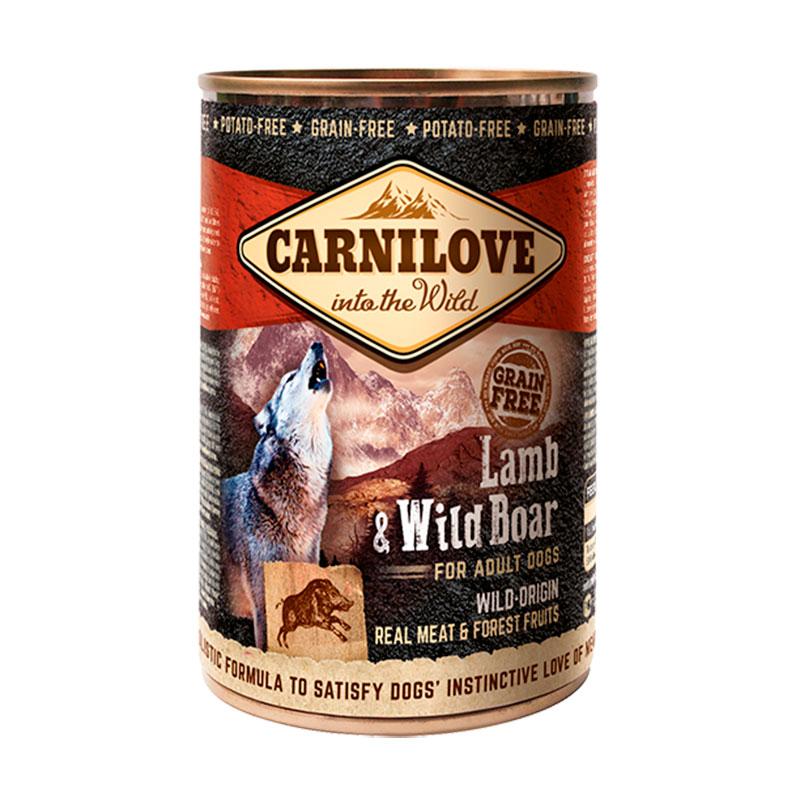 Carnilove Can Adult Dog Lamb & Wild Boar