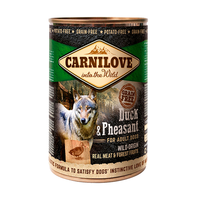 Carnilove Wet Adult Dog Duck & Pheasant