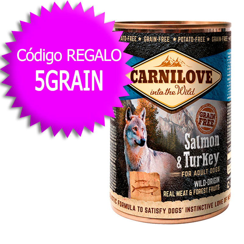 Carnilove Wet Adult Dog Salmon & Turkey