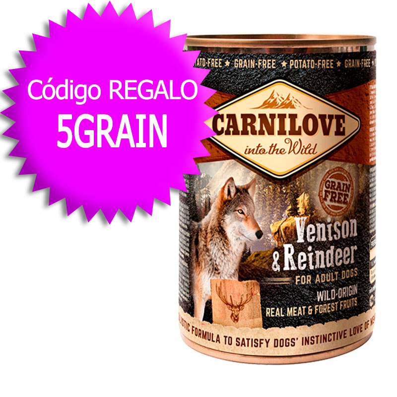 Carnilove Wet Adult Dog Venison & Reindeer