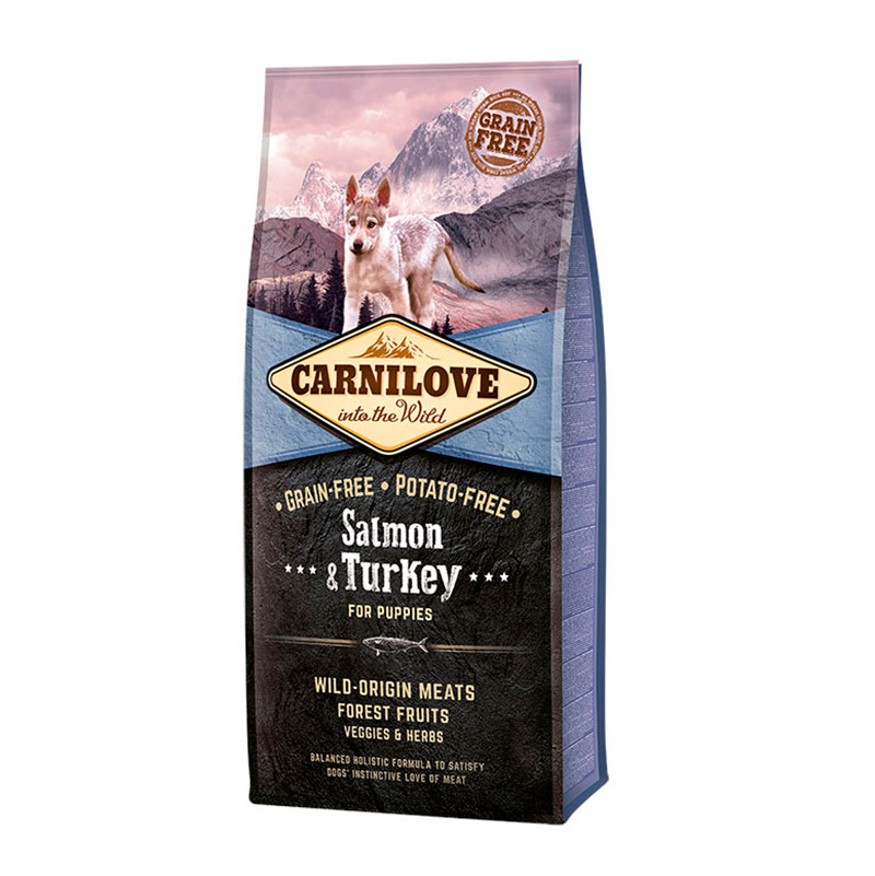 Carnilove Puppies Salmon & Turkey