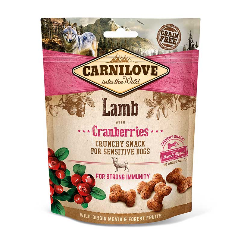 Carnilove Snacks Crunchy Lamb with Cranberries