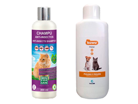 SHAMPOO Antiparasitic
