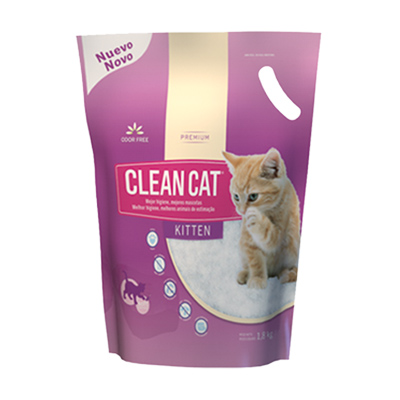 Bolsa de Arena Clean Cat Kitten 1.8Kg
