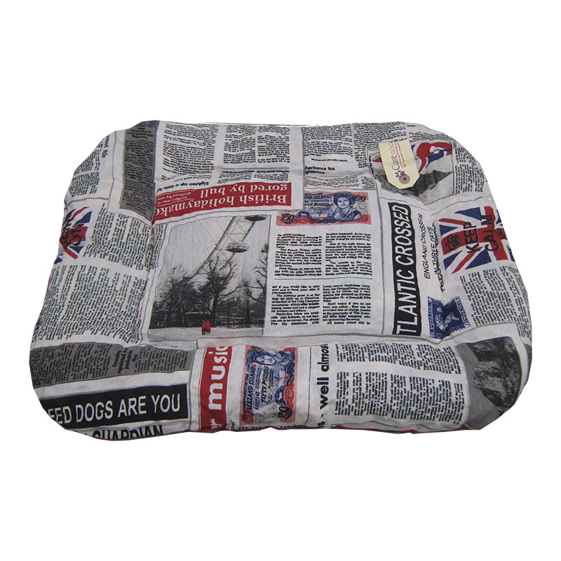Care Dog Descanso Cushion Newspaper