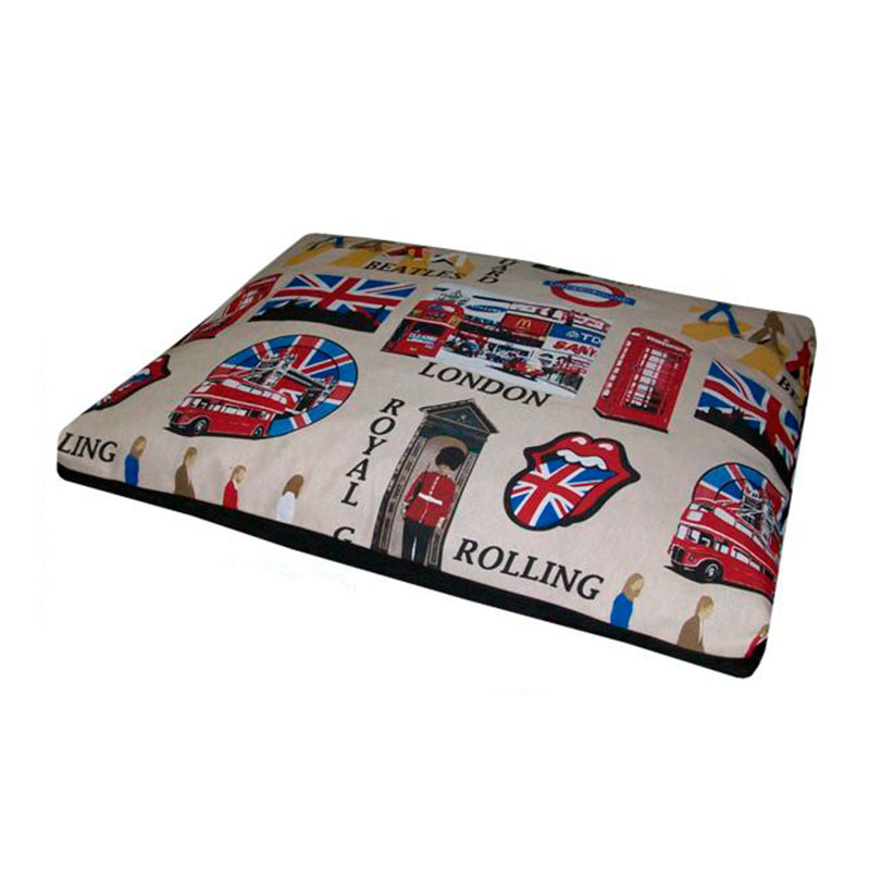 Care Dog Descanso Fluffy Rectangular Mat London