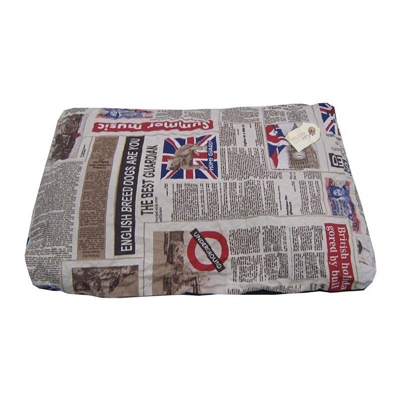 Care Dog Descanso Super Fluffy Mattress Newspaper
