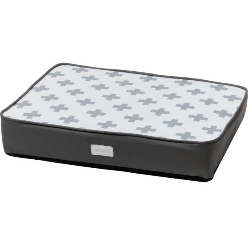 Arppe Rectangular Mattress Crux Gray and White