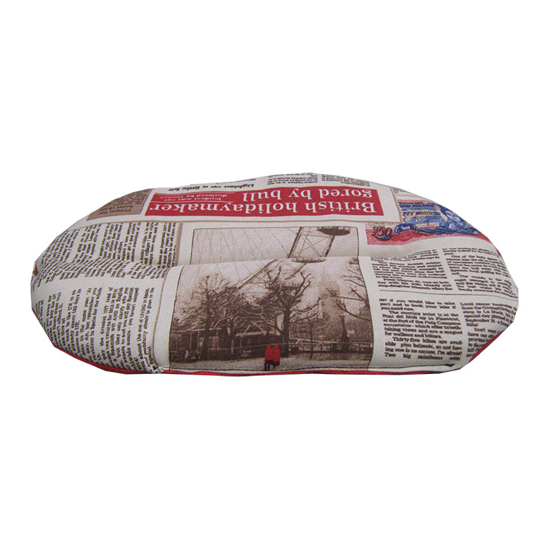 Care Dog Descanso Fiber Oval Mat Newspaper