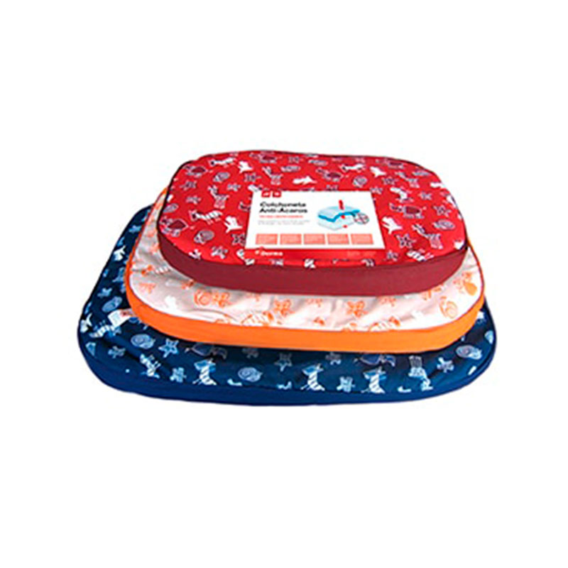 Red Anti-Mite Bed for Dogs Leti