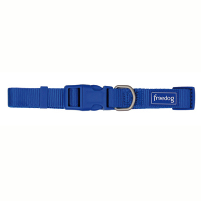 Blue Nylon Basic collar