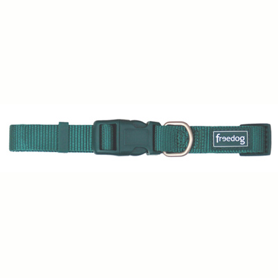 Collar Nylon Basic Verde