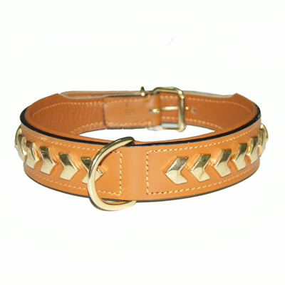 Collar Leather Berlin DeLuxe Natural