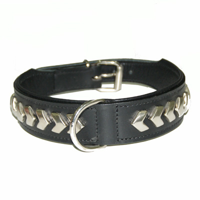 Collar Leather Berlin DeLuxe Black
