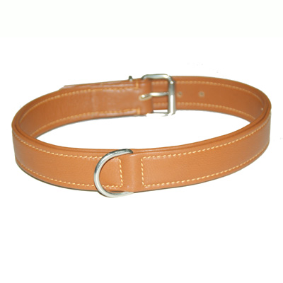 Collar Soft Leather Natural