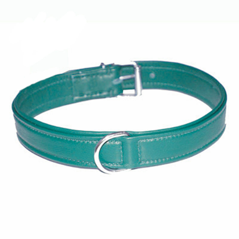 Collar Soft Leather Turquoise