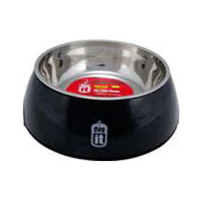 Comedero Dog Dish Negro 160ml