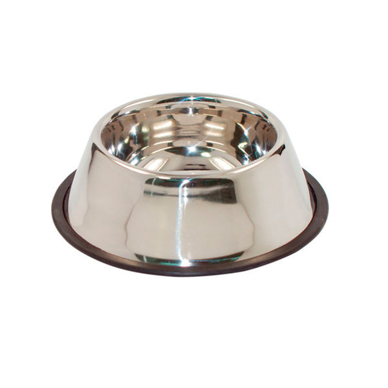 Antiskid Stainless Steel Feeding Bowl for Dogs