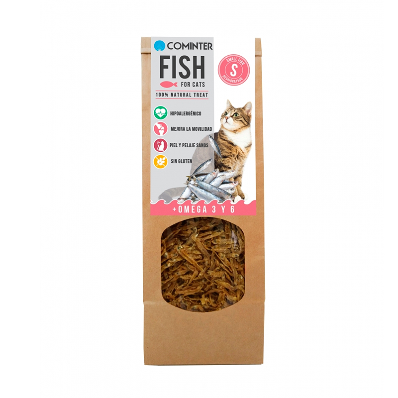 Cominter Fish for Small Cats