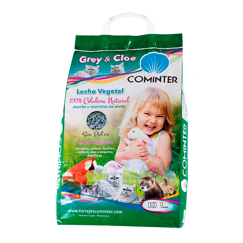 Cominter Lecho Vegetal Papel Grey & Cloe