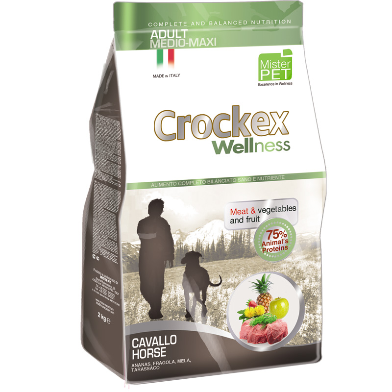 Crockex Adult Caballo y Arroz Medium - Maxi