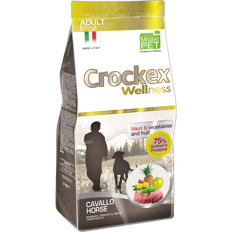 Crockex Adult Caballo y Arroz Mini