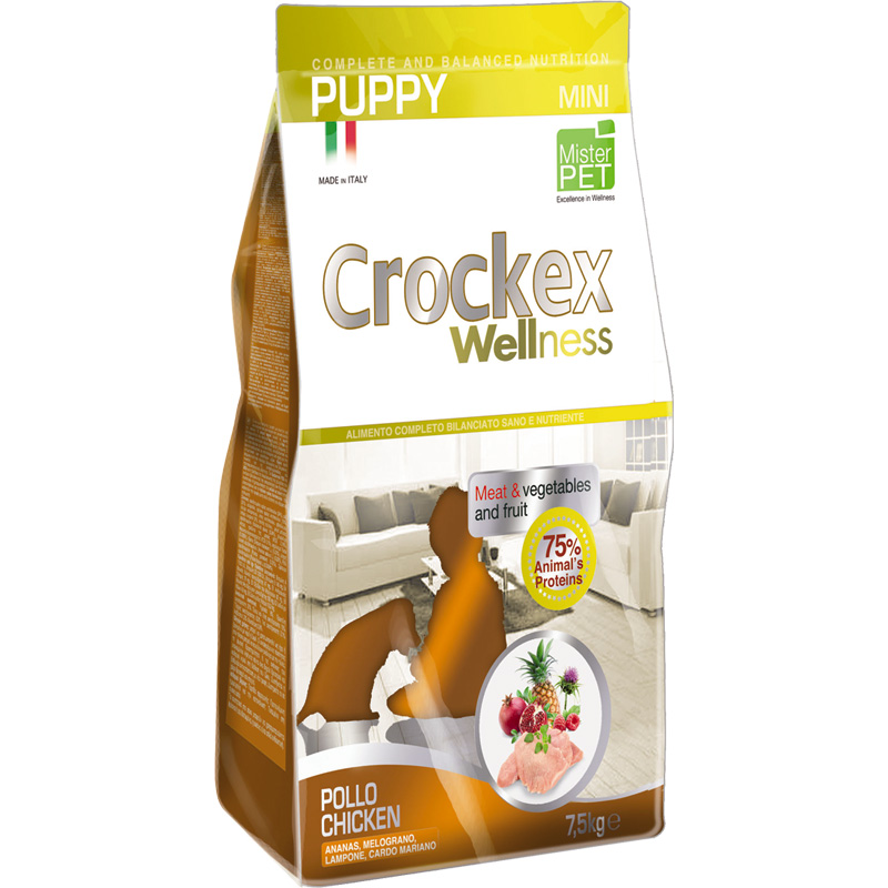 Crockex Puppy Pollo y Arroz Mini