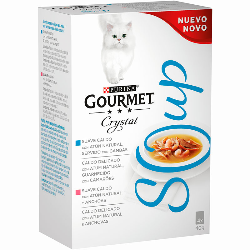 Gourmet Crystal Soup Multipack Tuna Shrimp & Anchovy