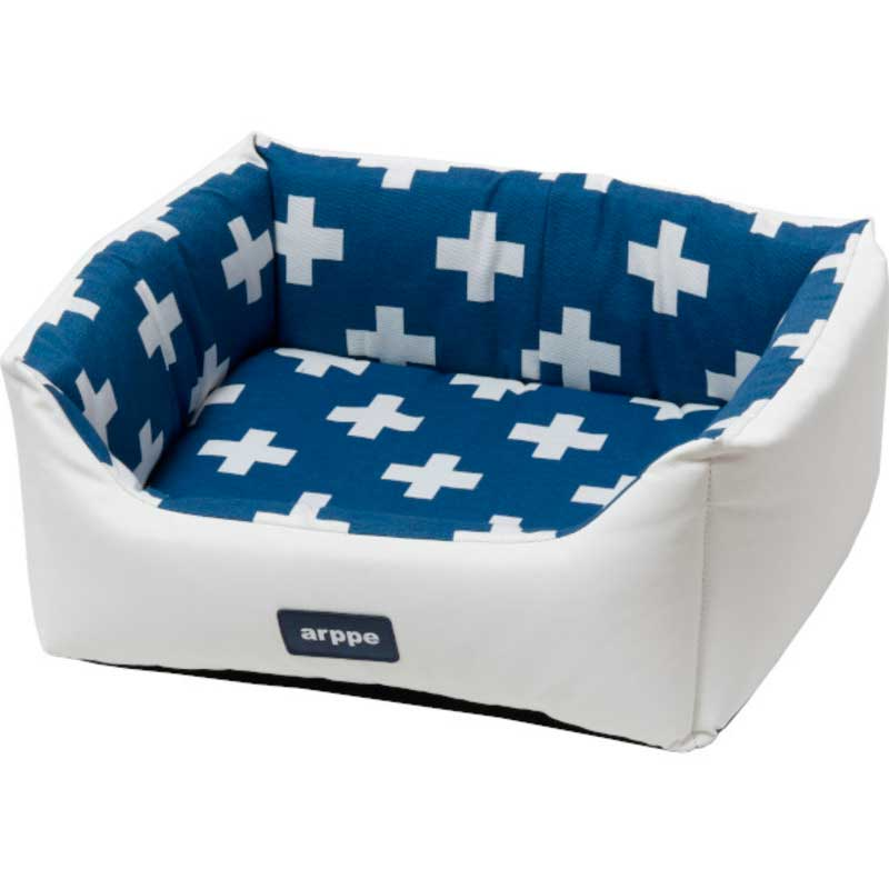 Arppe Rectangular Crib Crux White and Blue