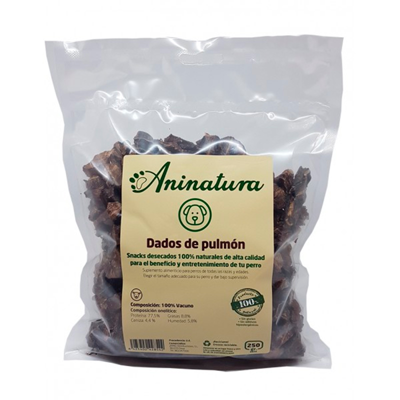 Aninatura Snack Dice Lung Beef
