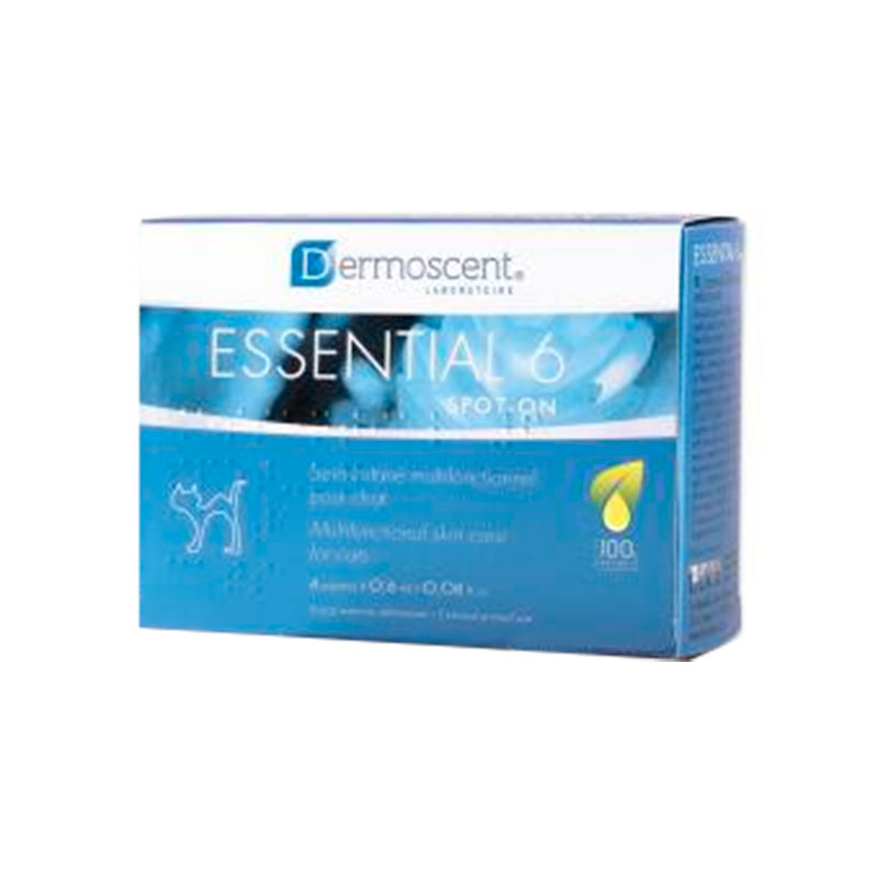Dermoscent Essential 6 Spot On Pipetas para Gatos