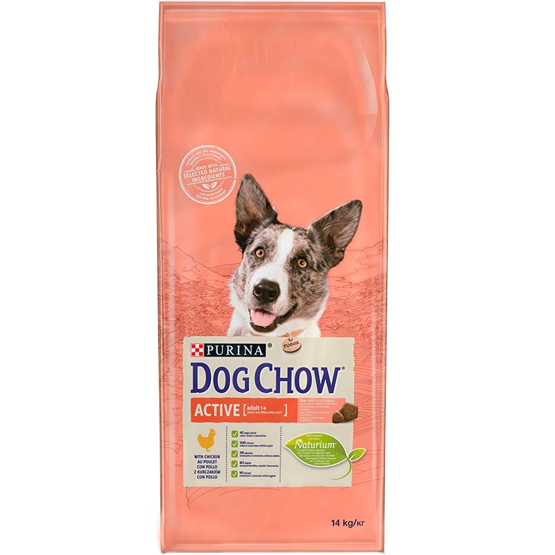 Dog Chow Active con Pollo 14Kg