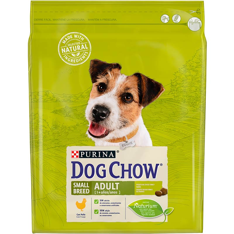Dog Chow Adult Small Breed with Chicken 2,5kg