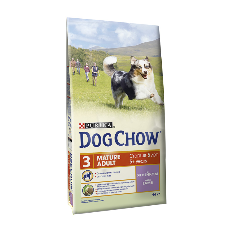 Dog Chow Adulto Mature with Lamb