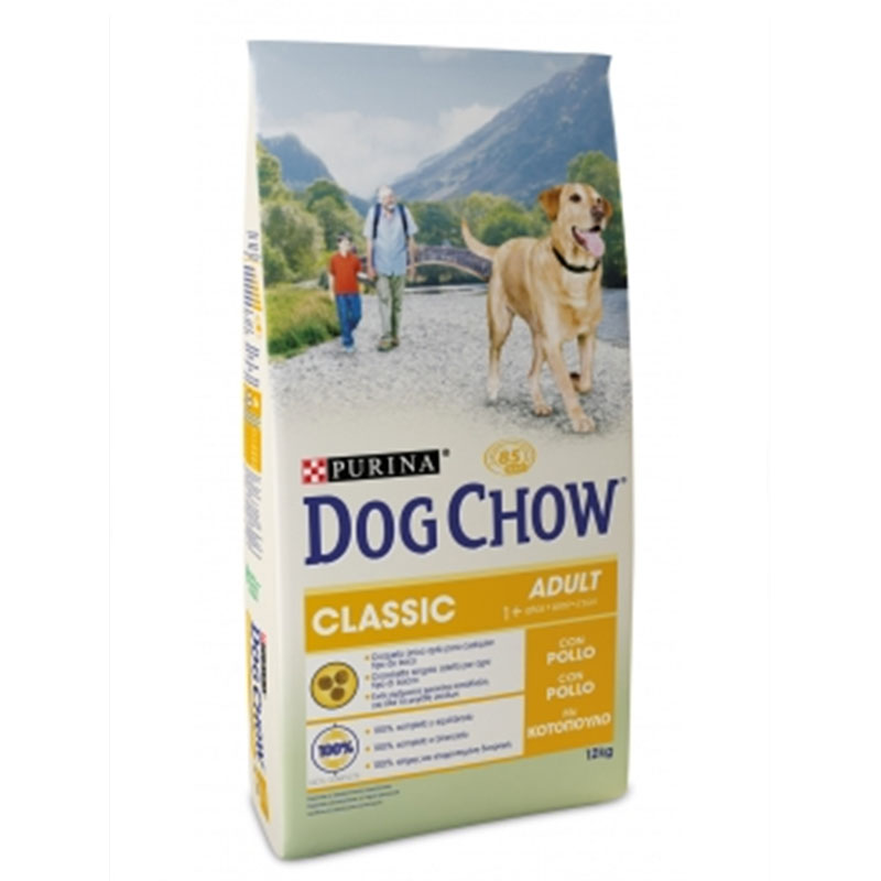 Dog Chow Adult Classic with Chicken 12Kg
