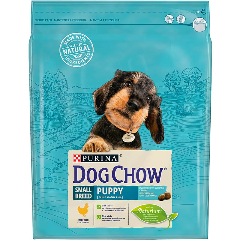 Dog Chow Puppy Small Breed with Chicken 2,5kg