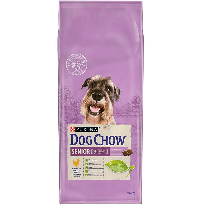 Dog Chow Senior con Pollo 14kg
