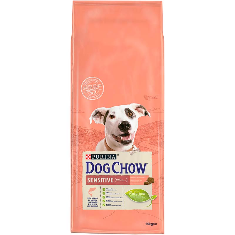 Dog Chow Sensitive con Salmón y Arroz