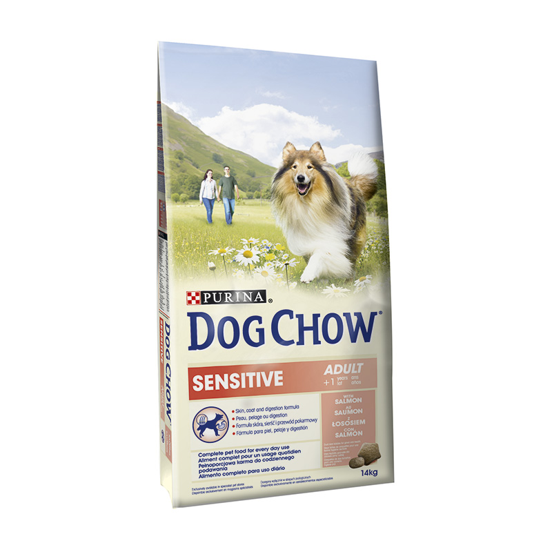 Dog Chow Sensitive with Salmon & Rice