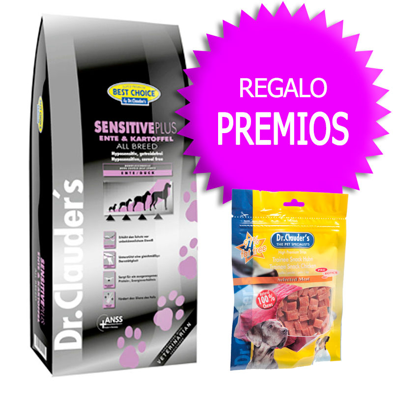 Dr Clauder Best Choice Sensitive Plus Pato y Patata
