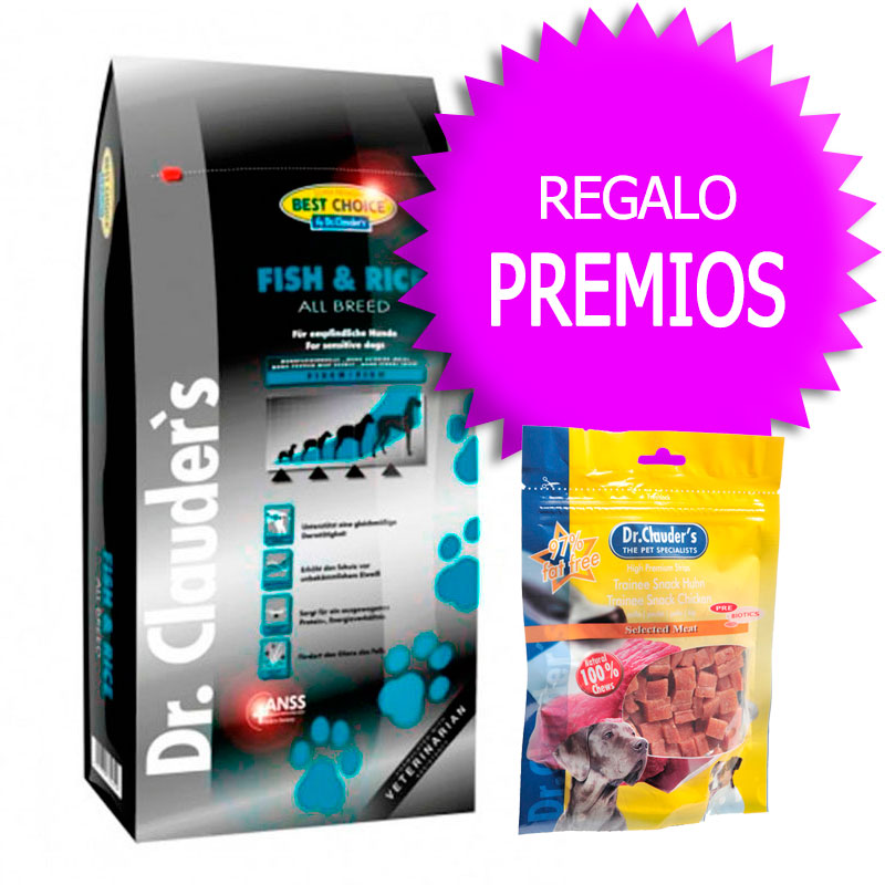 Dr Clauder Best Choice Sensitive Pescado & Arroz