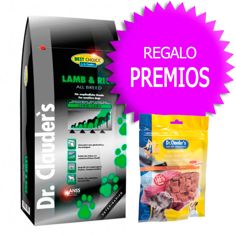 Dr Clauder Best Choice Sensitive Cordero y Arroz