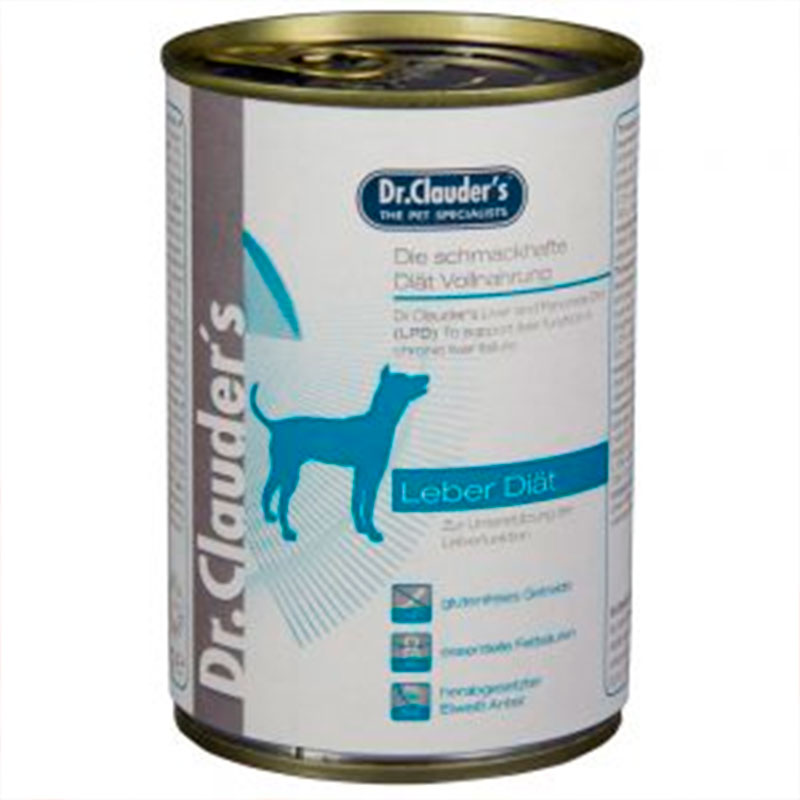 Dr.Clauder Dog Superpremium Hepatic LPD