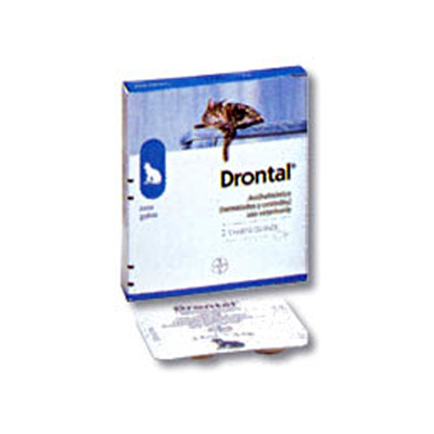 Drontal Gatos 1 comprimido