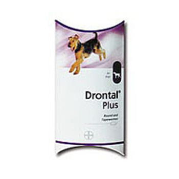 Antiparasitario Interno Drontal Plus Sabor 10Kg