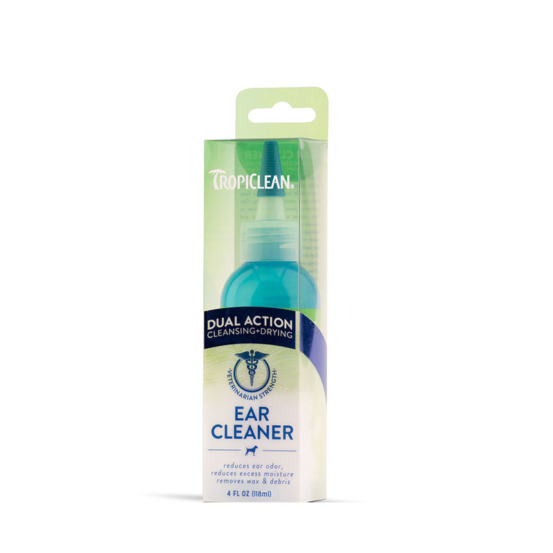 Tropiclean ear action dual cleaner