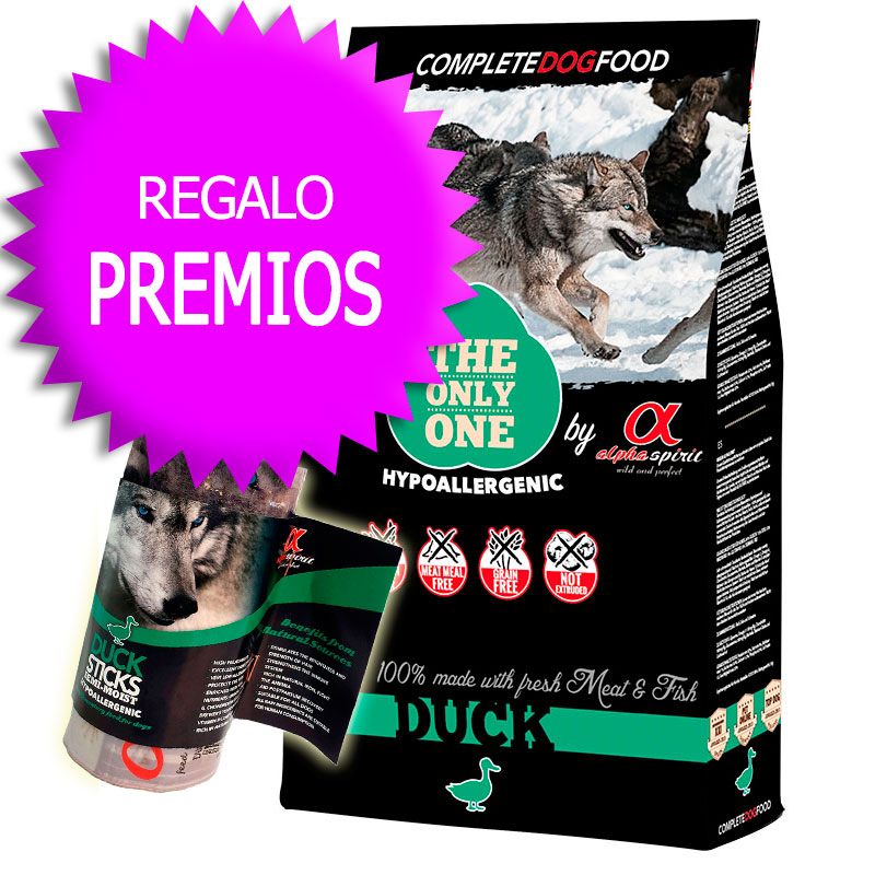"Alpha Spirit ""The Only One"" Duck 12Kg+Cupón"