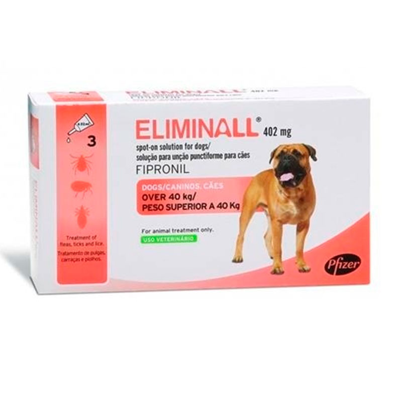 Eliminall Zoetis Pipettes for Dogs +40Kg